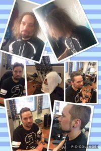 miesten hiustenleikkaus, mallinmuutos, parranajo, uusi tyyli